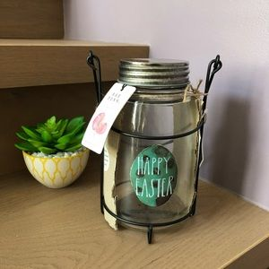 Rae Dunn Easter Light Mason Jar